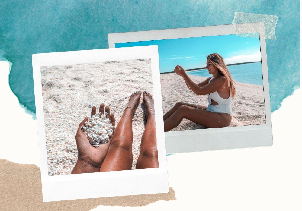 Que faire en australie - shell beach
