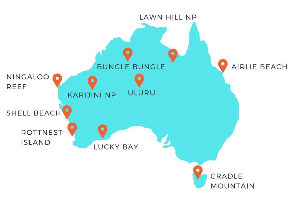 que faire en australie - liste des incontournables