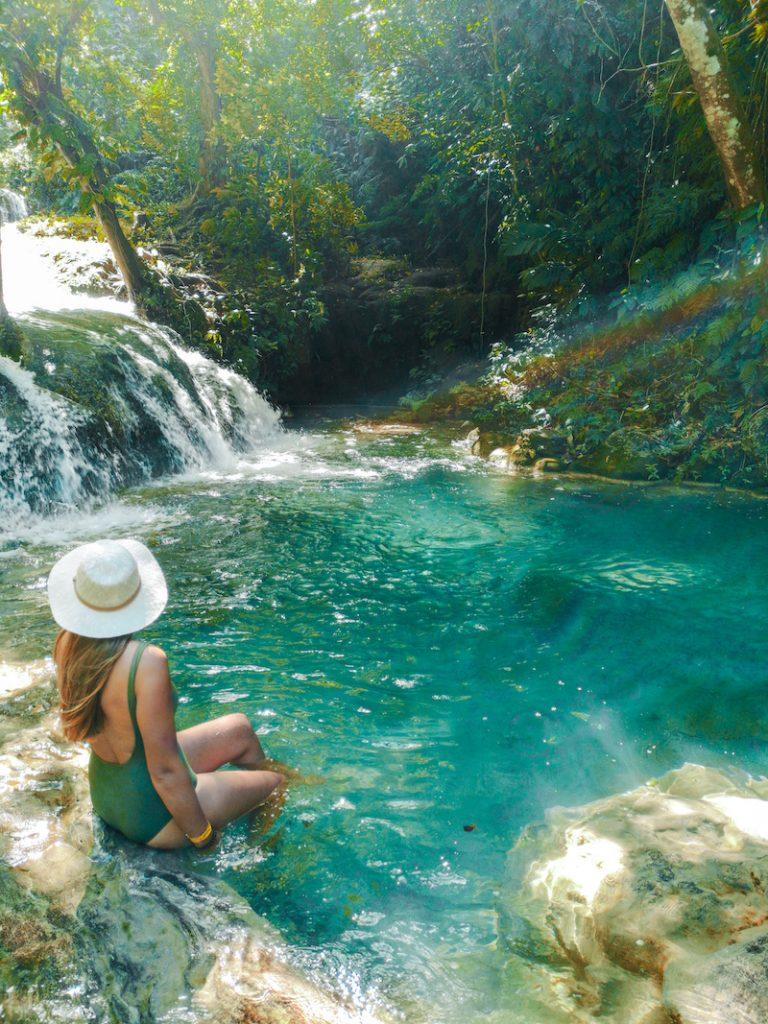 Les bassins des cascades de mélé, Vanuatu
