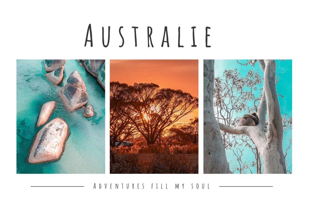 fille au pair australie paysage