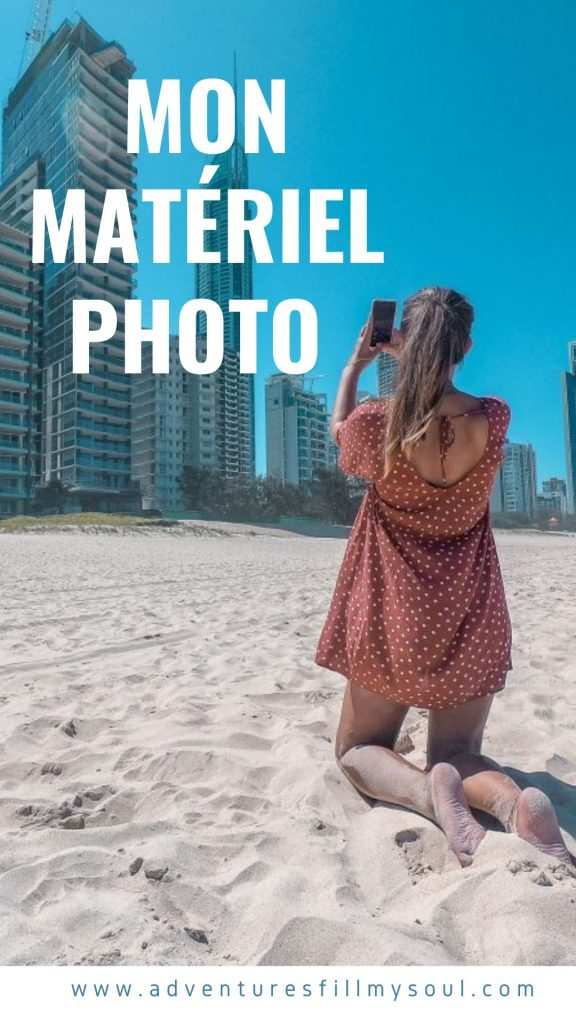 matériel photo voyage réseaux sociaux