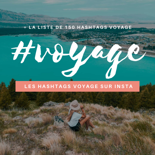 HASHTAGS VOYAGE instagram