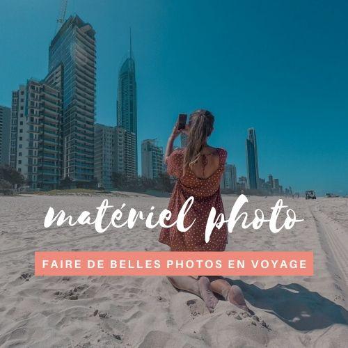 Materiel photo voyage