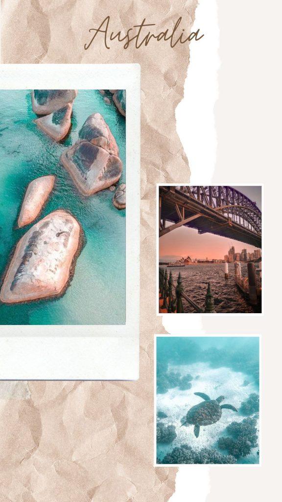 Photos souvenirs Australie