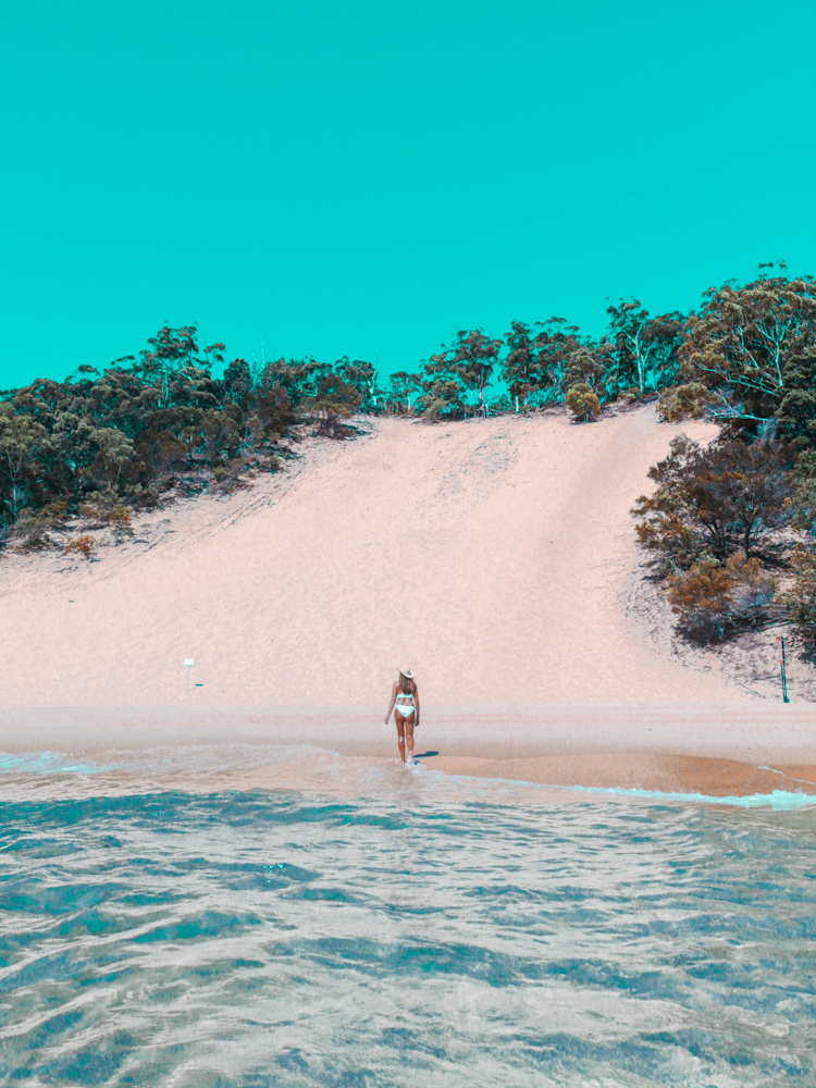 Avant après Snapseed application instagram voyage
