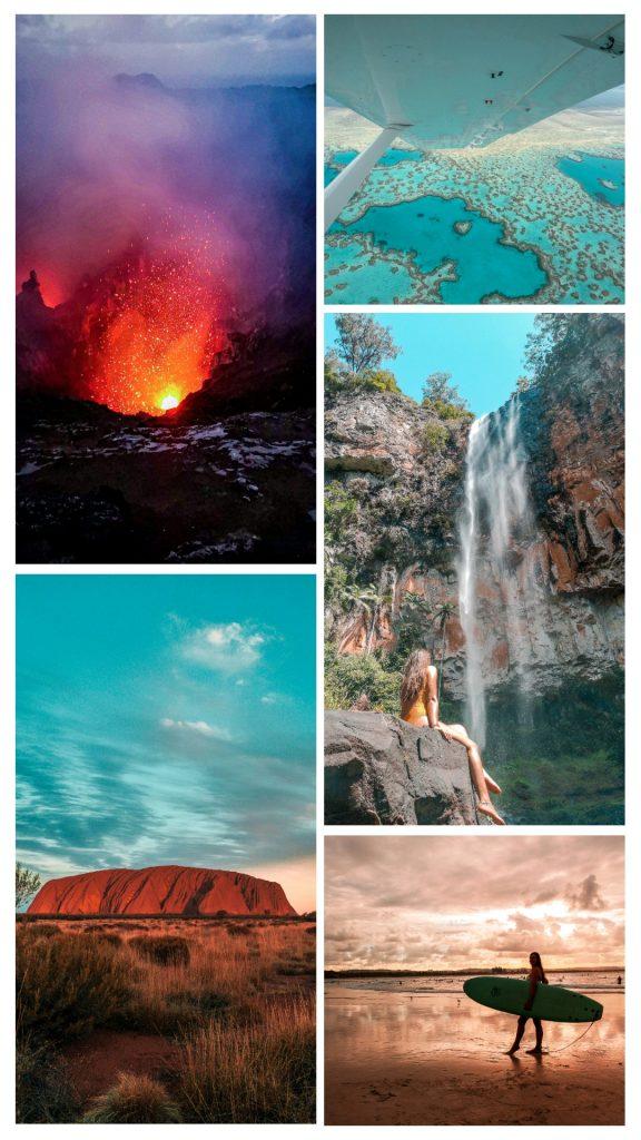 Story art - application pour montage photos de voyage
