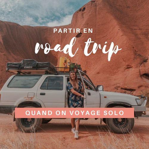 voyage solo : road trip en Australie